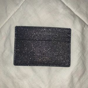 Kate spade glitters card holder